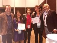 Los equipos de Luisa García y Liza López con Ginna Morelo ganan el Concurso de Proyectos Transnacionales
