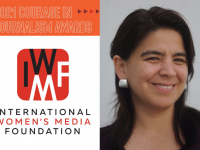 Periodista peruana recibe Premio al Valor en el Periodismo 2021