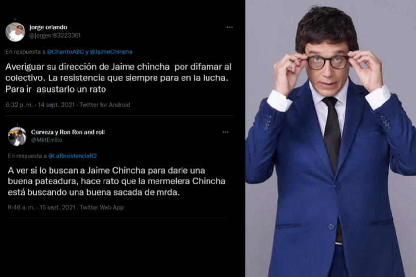 Perú: grupo de extrema derecha llama a agredir a periodista