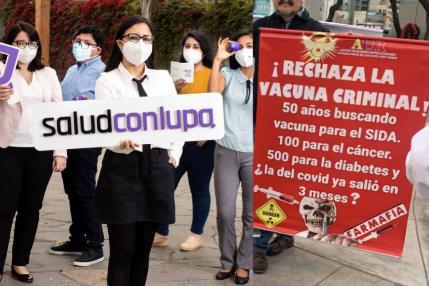 Perú: portal de investigación periodística sobre salud sufre acoso y amenazas de grupos anti vacunas
