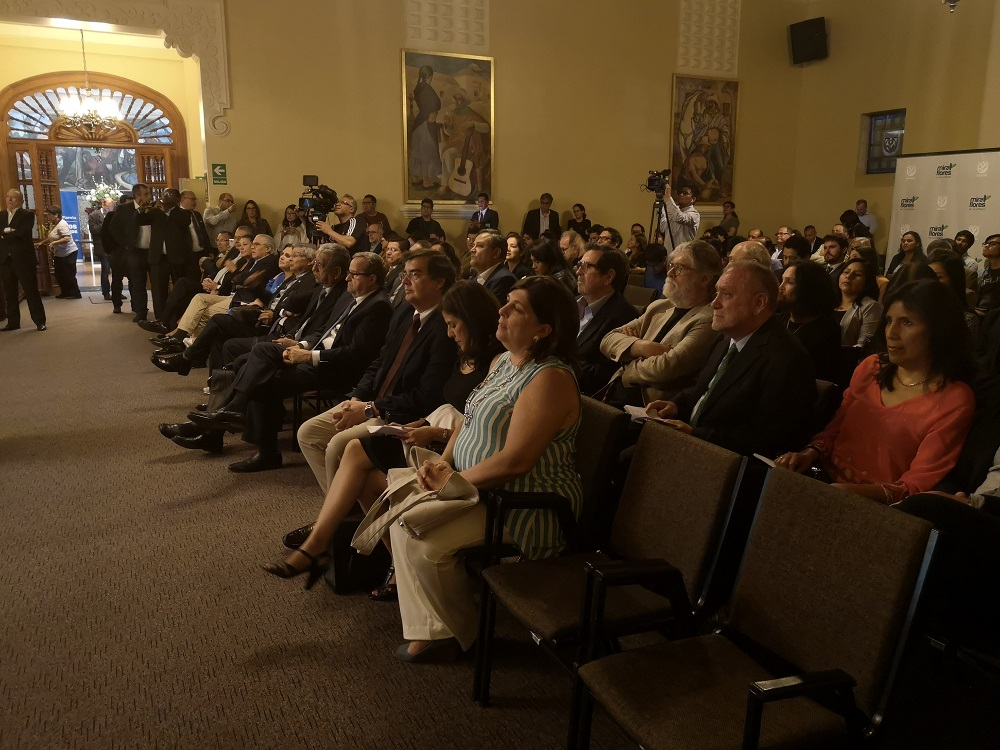 La ceremonia se realizó el la Municipalidad de Miraflores