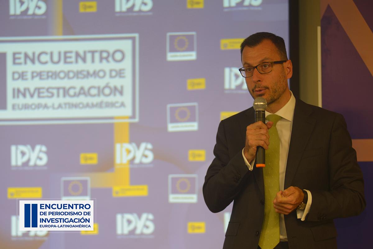 Diego Mellado, Embajador de la Unión Europea en el Perú