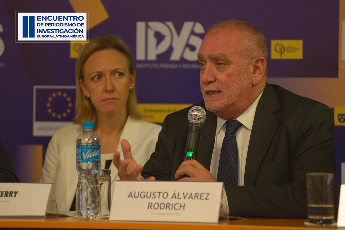 Augusto Álvarez Rodrich, Presidente de IPYS