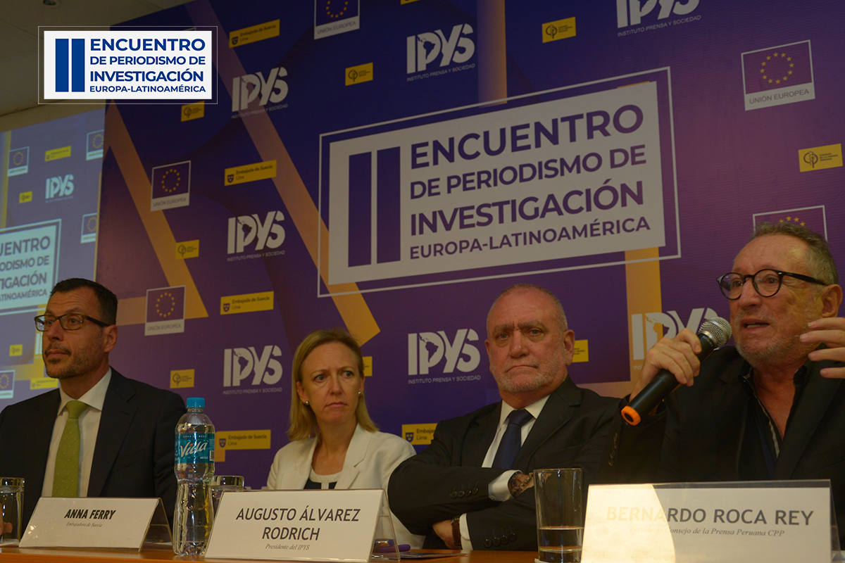 Bernardo Roca Rey, Presidente del Consejo de la Prensa Peruana.