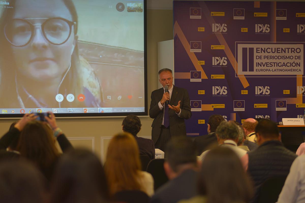 Ucrania presente en el II Encuentro de Periodismo de Investigación Europa-Latinoamérica